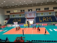 Gia Lam Gymnasium is ready for the Asian U23 Women's Volleyball...