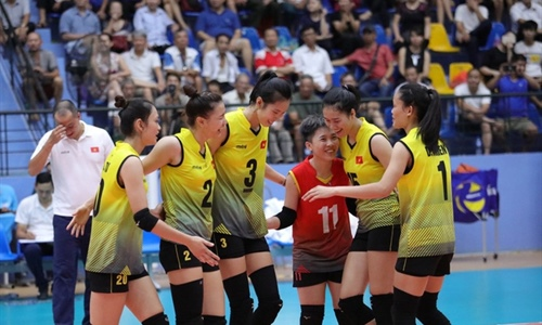 U23 Vietnam won the ticket to the top 8 Asian Women's Volleyball tournament