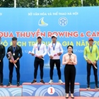 Hanoi leads the Boat Race Canoeing National Young 2019