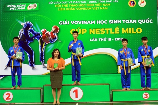 Ho Chi Minh City won the entire 3rd national Vovinam student tournament...