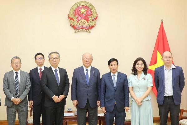 Bộ trưởng Nguyễn Ngọc Thiện khẳng định Việt Nam và Nhật Bản sẽ phối hợp chặt chẽ nhằm tổ chức thành công Lễ hội Việt – Nhật lần thứ 7