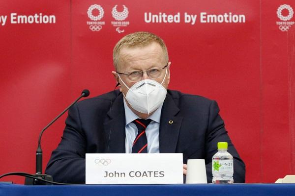 Chủ tịch Ủy ban phối hợp Ủy ban Olympic quốc tế John Coates (Ảnh: insidethegames)