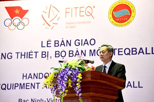Ông Trần Văn Mạnh - Vụ trưởng, Tổng Thư ký Ủy ban Olympic Việt Nam